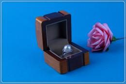 THW843R 实木戒指盒