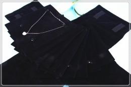 THS737 10P片装项链绒布包